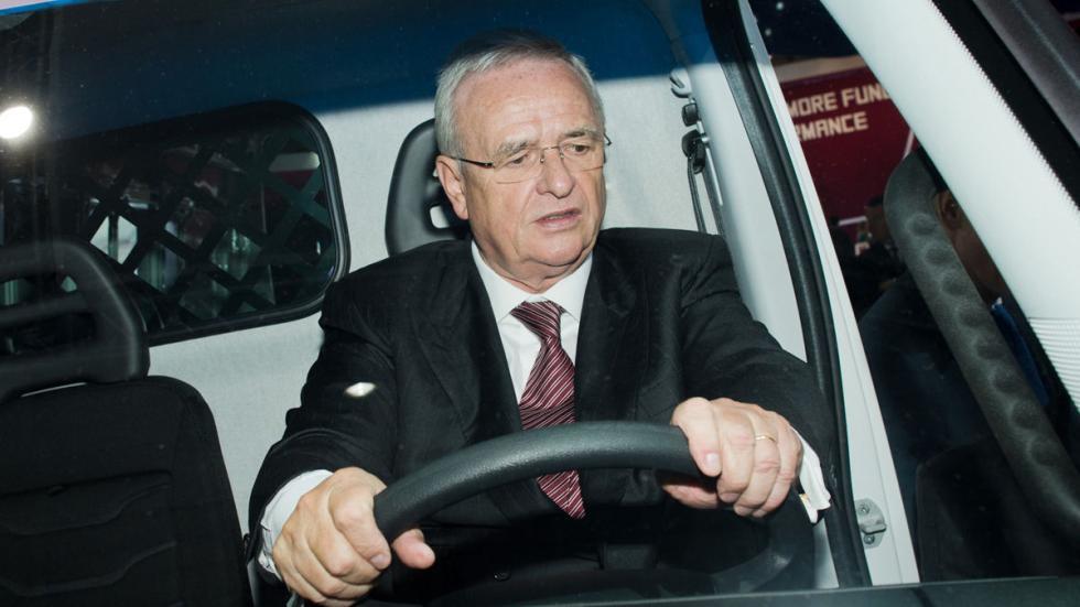 Martin Winterkorn Salón de vehículos industriales en camión