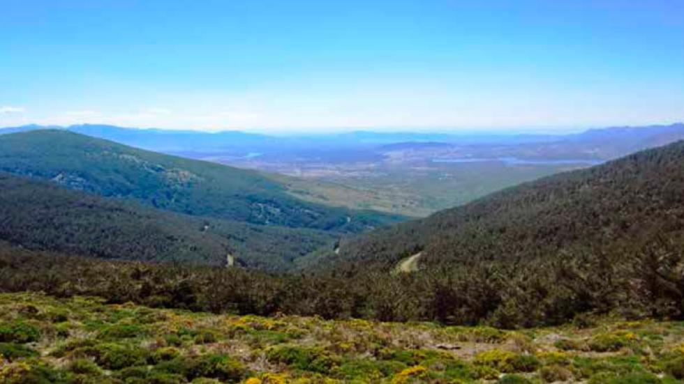 Competición Skoda Gran Fondo Buitrago - paisaje