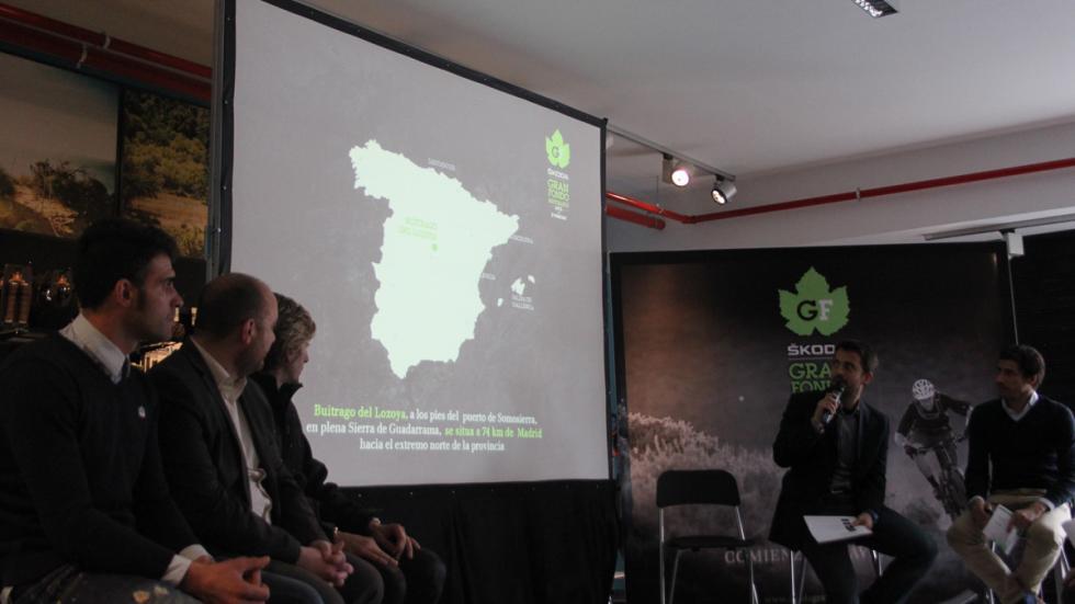 Competición Skoda Gran Fondo Buitrago - briefing