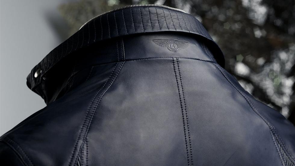 Cazadora de cuero para hombre de la Colección Bentley