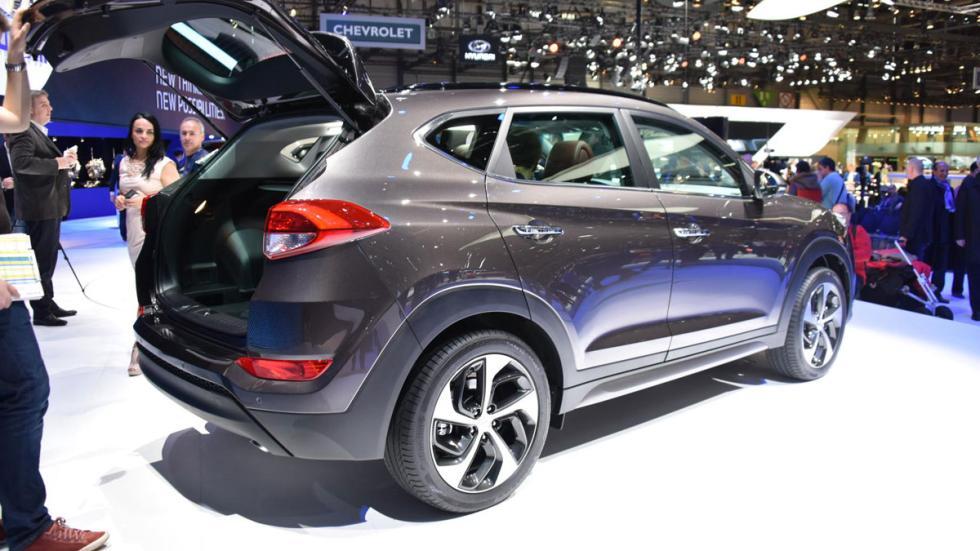 Hyundai Tucson 2015 trasera