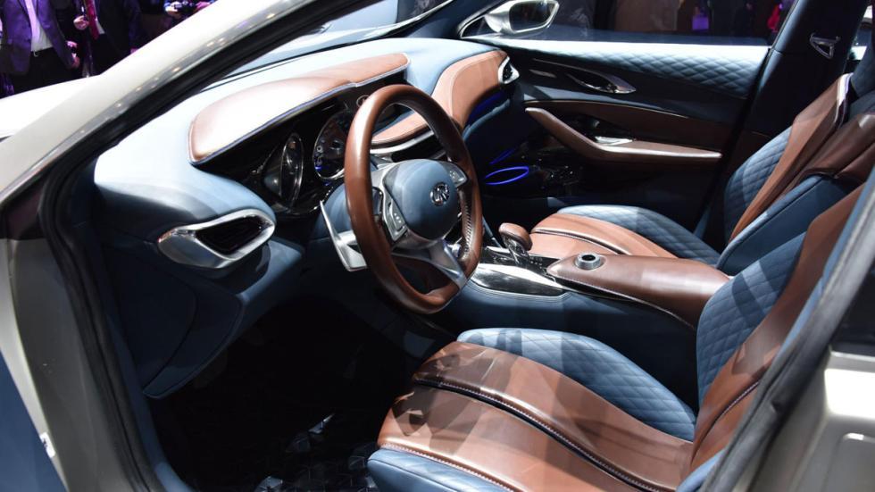 Infiniti QX30 Concept interior