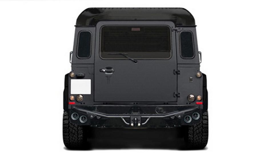 Kahn 'Flying Huntsman' 6x6 Concept trasera