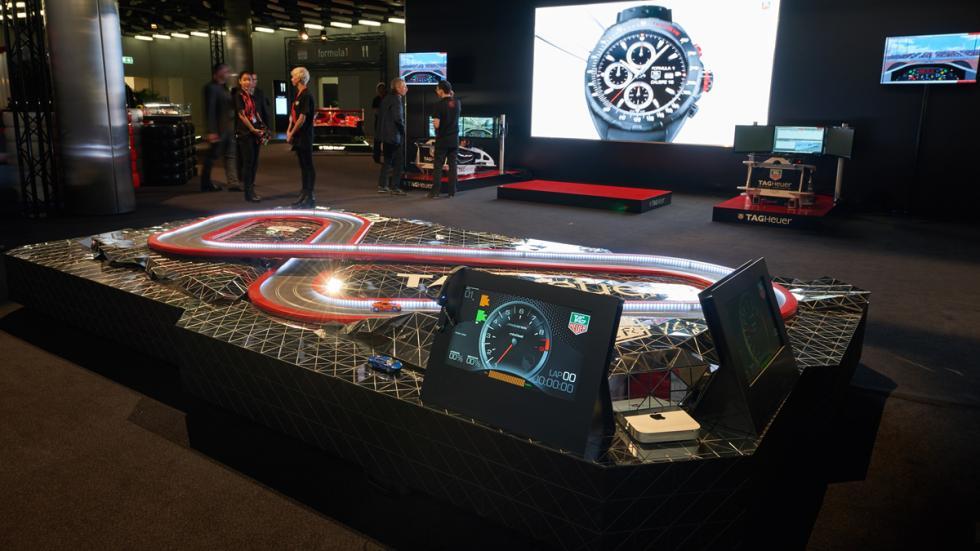 Exposición de Tag Heuer: 30 años de historia con McLaren - slot exposición