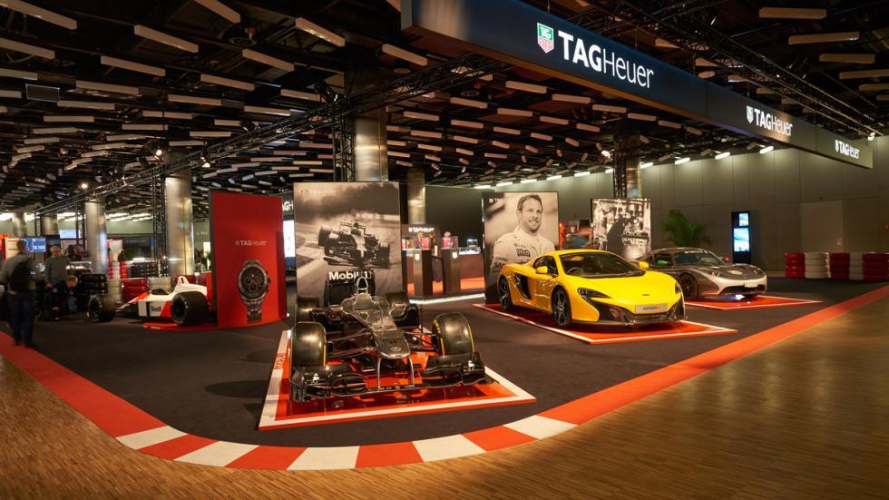 Exposición de Tag Heuer: 30 años de historia con McLaren - McLaren F1