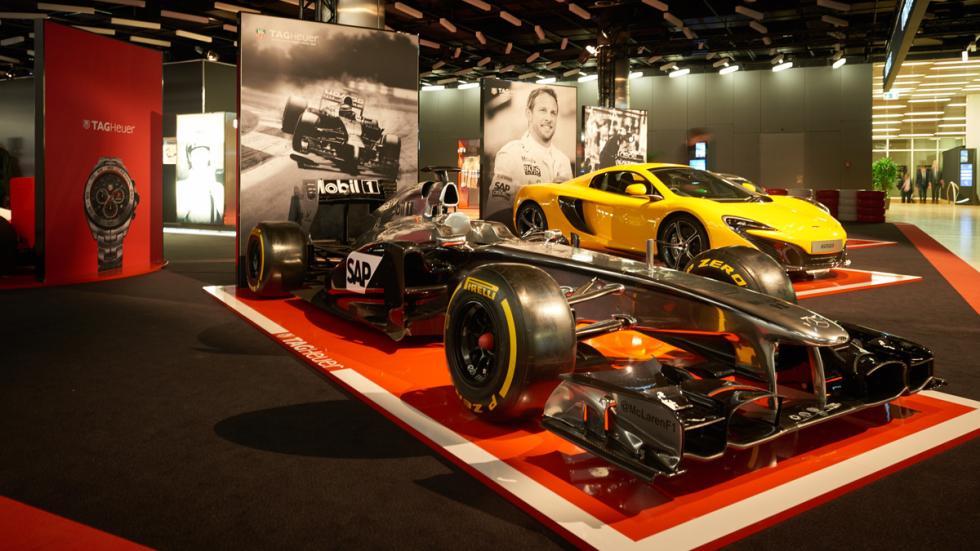 Exposición de Tag Heuer: 30 años de historia con McLaren - McLaren F1 Mercedes
