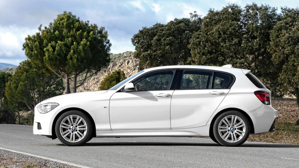BMW 118d lateral