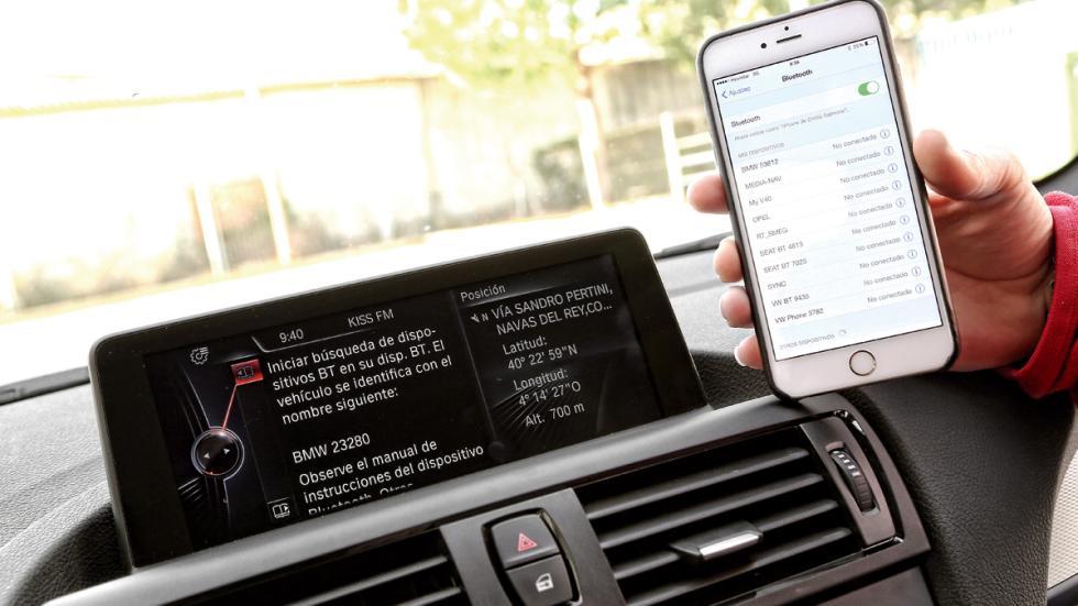 BMW 118d conectividad