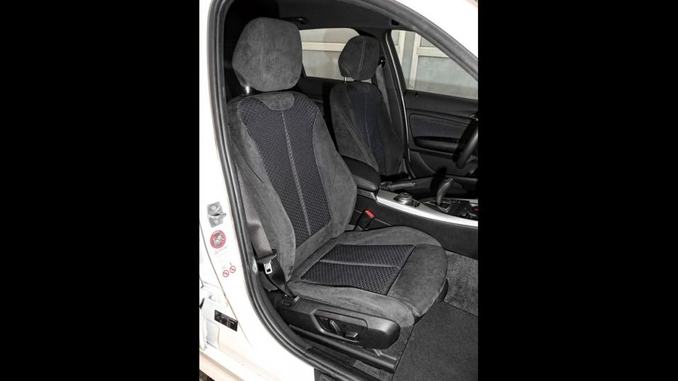 BMW 118d asientos