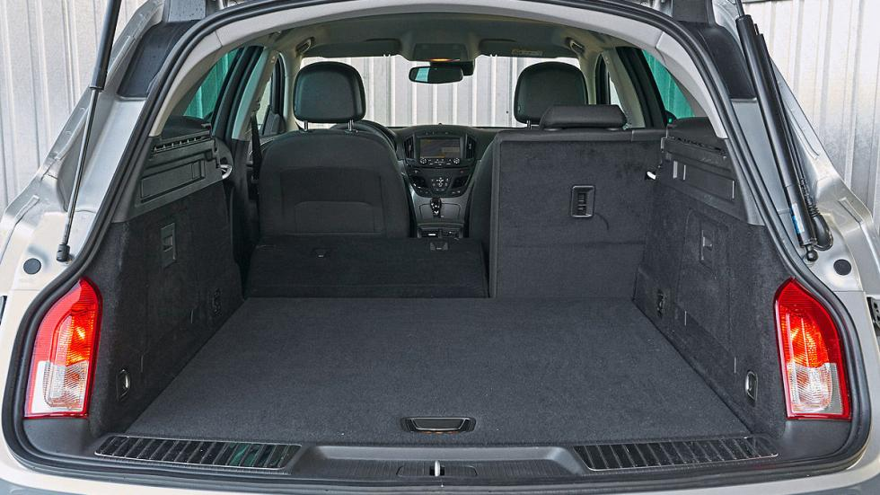 Opel Insignia asientos maletero