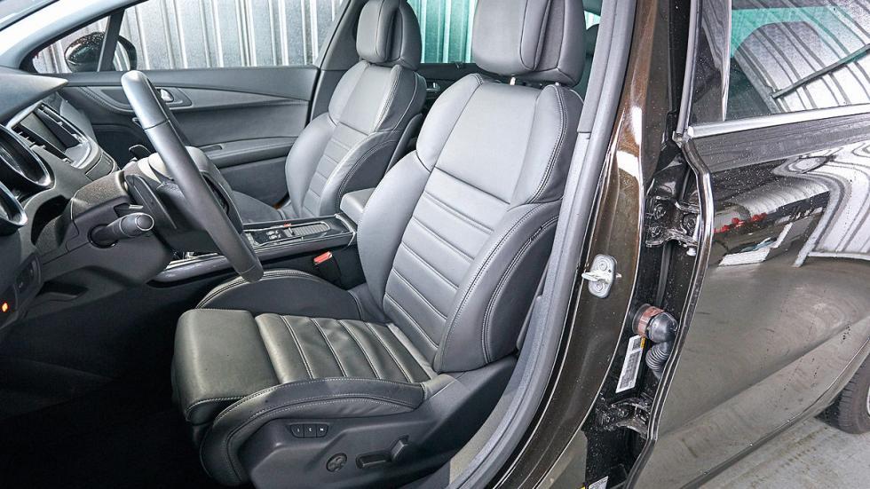 Peugeot 508 asientos