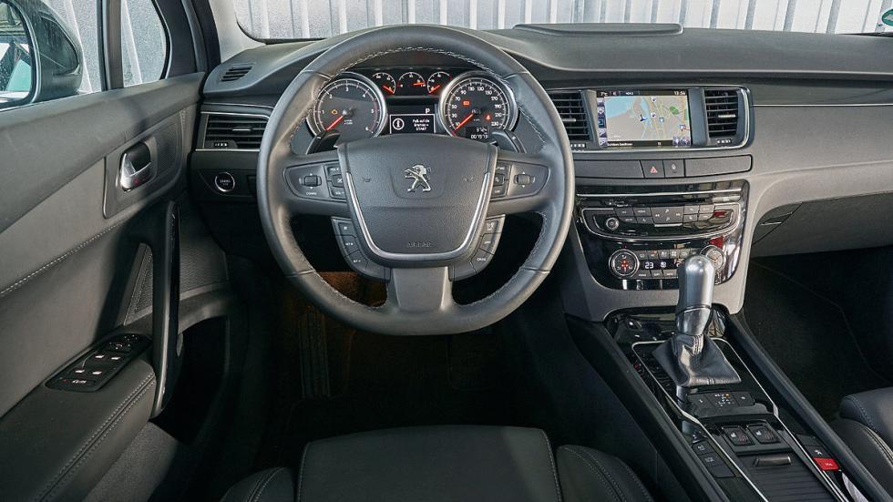 Peugeot 508 salpicadero