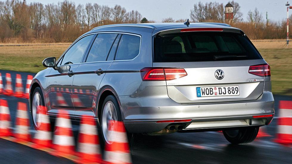 VW Passat interior zaga