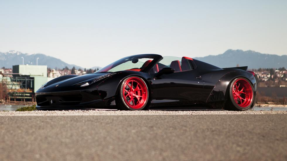 Ferrari-458-Spider-LB-Works