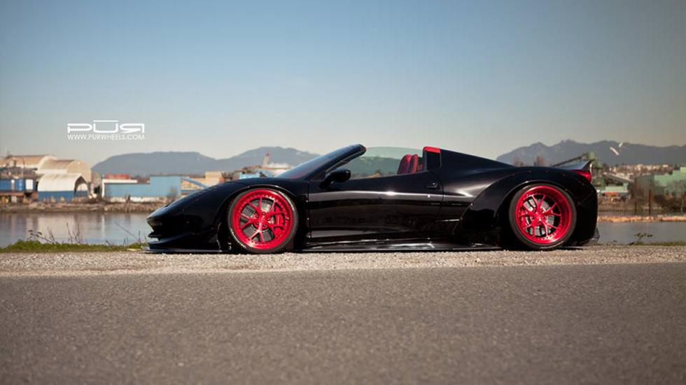 Ferrari-458-Spider-LB-Works-lateral