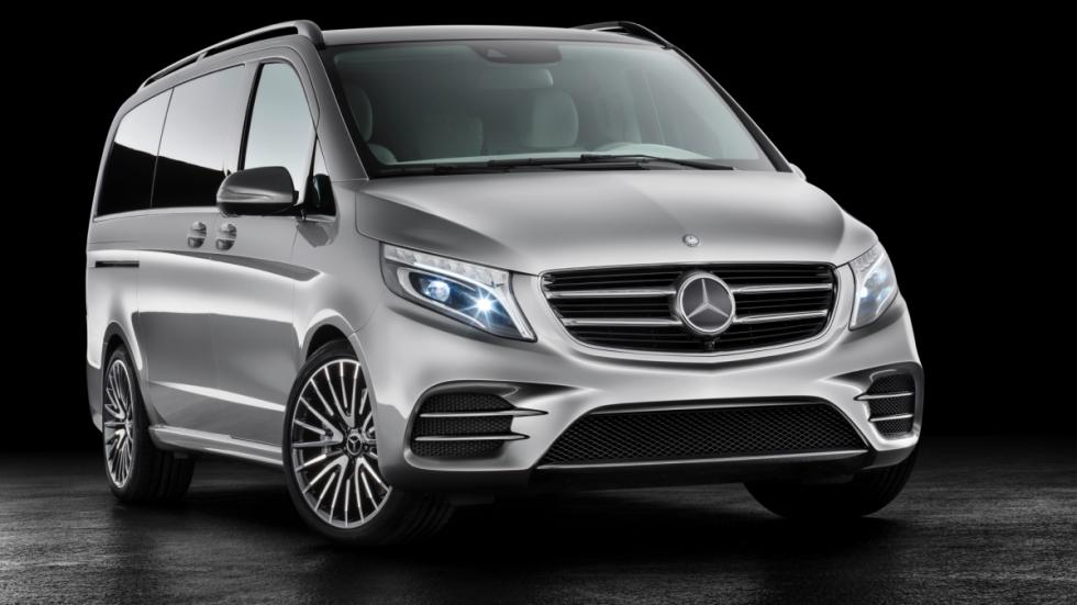 Mercedes Concept V-ision e frontal