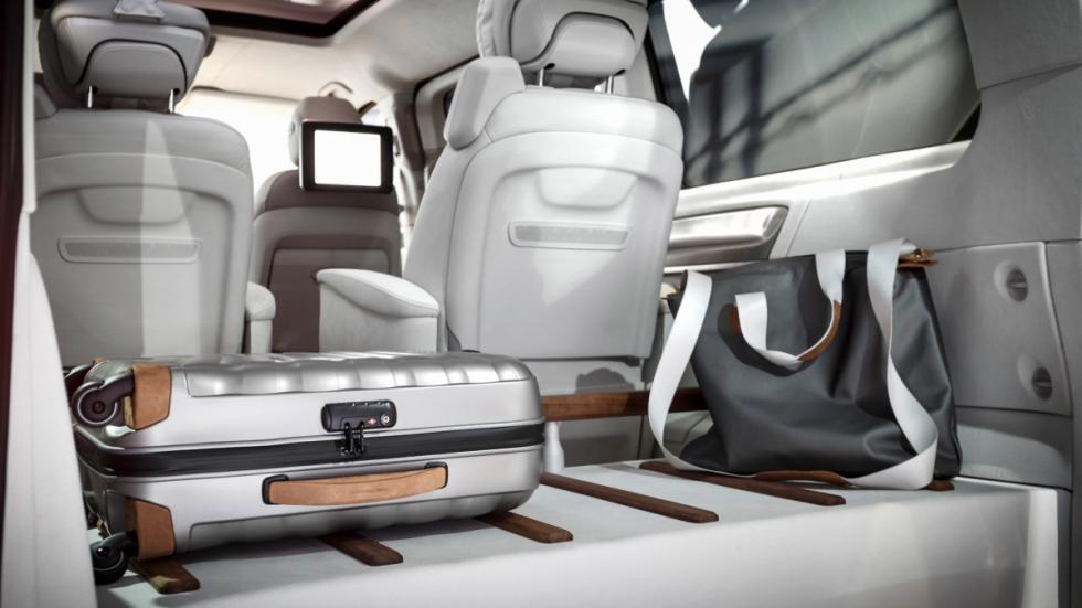 Mercedes Concept V-ision maletero