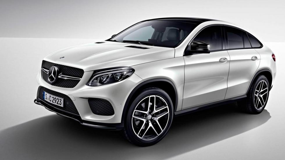 Mercedes GLE Night Package frontal