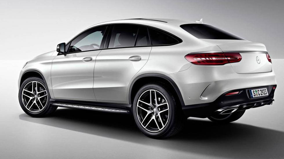Mercedes GLE Night Package perfil