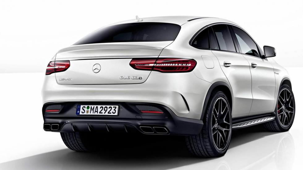 Mercedes GLE Night Package trasera