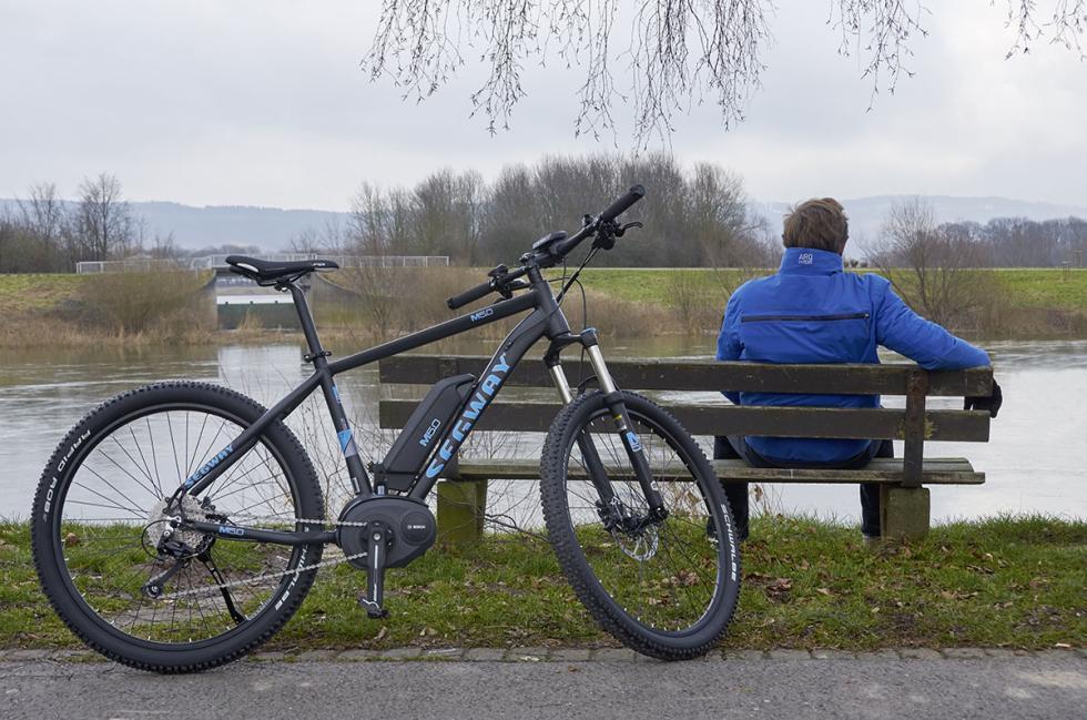 Bicicleta eléctrica Segway Mountain E-Bike M5.0