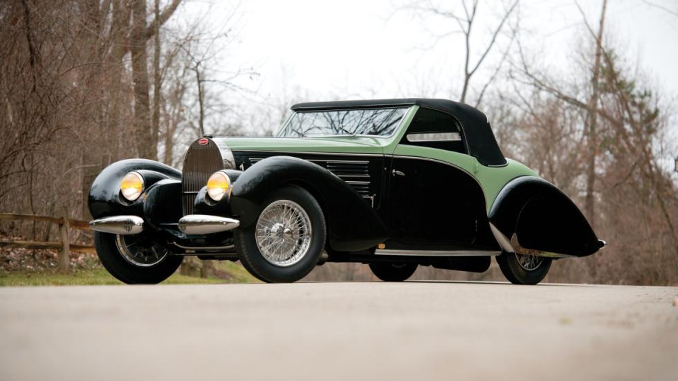 Bugatti, este Bugatti Type 57C Aravis Cabriolet by Gangloff de 1938