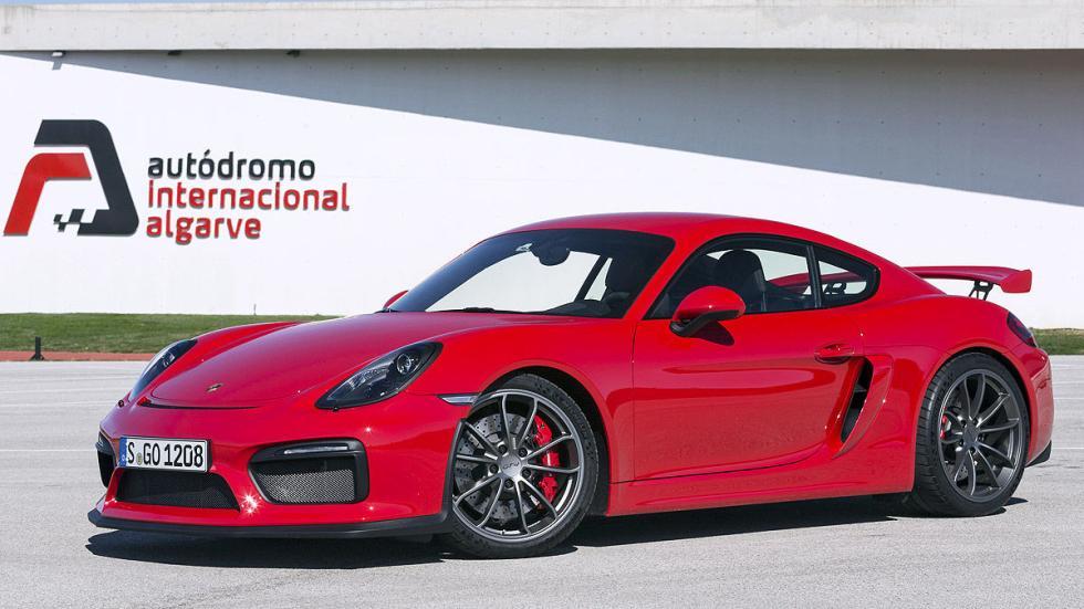 Prueba: Porsche Cayman GT4 2015 detalle estático