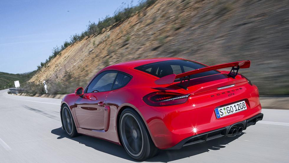 Prueba: Porsche Cayman GT4 2015 detalle zaga