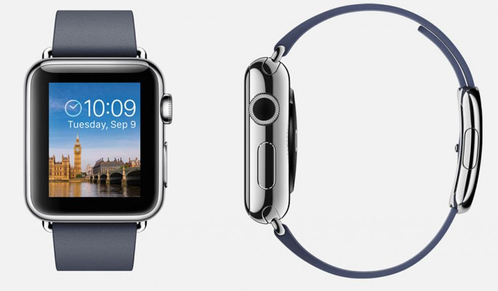 Alta tecnología en el Apple Watch