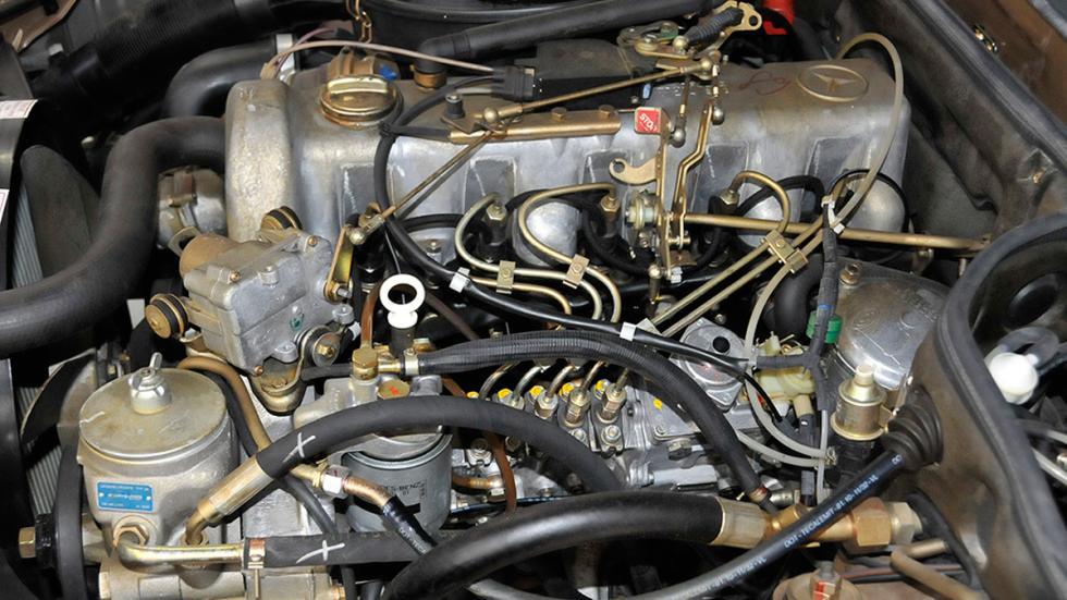 Mercedes 300SD 1982 motor