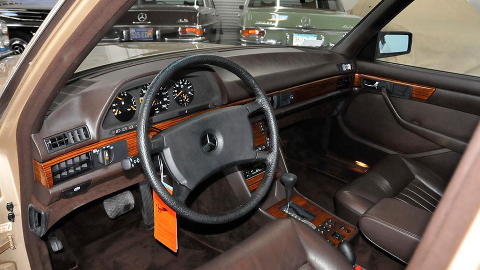 Mercedes 300SD 1982 salpicadero