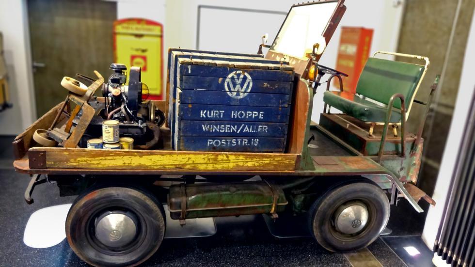 65 aniversario del Volkswagen Transporter 'Bulli' - plataforma de carga