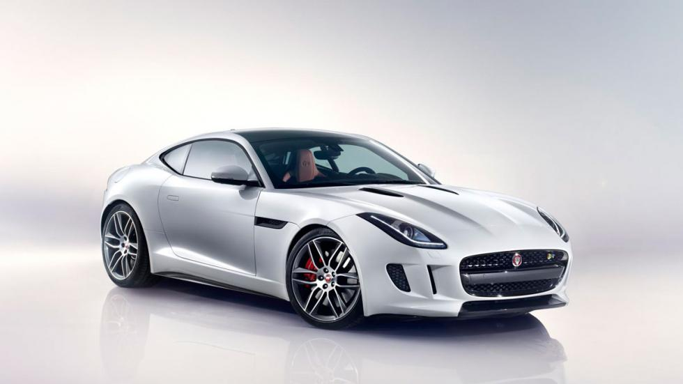 Blanco jaguar f-type