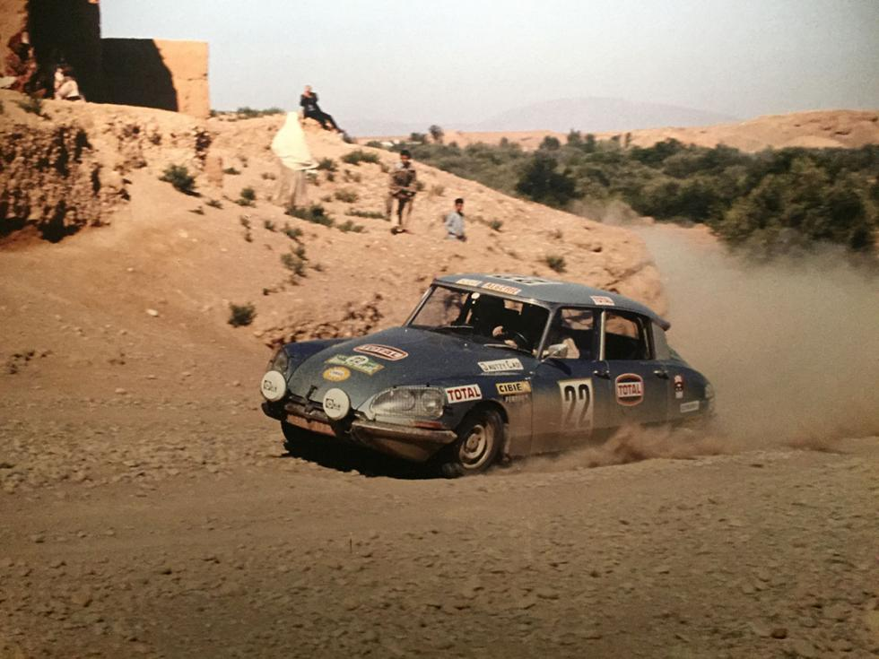 Citroën DS Tiburón de rallies