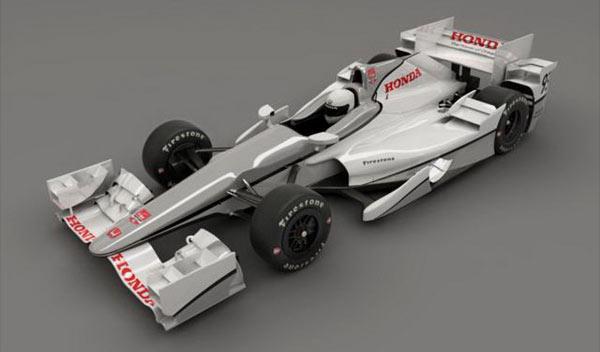 Honda indycar kit aerodinamico