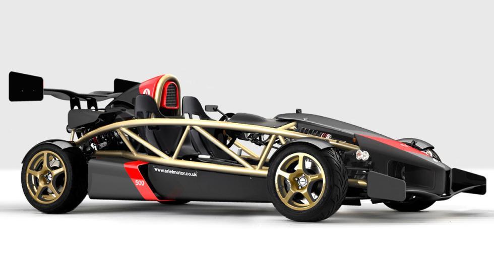 Ariel Atom 500 V8 delantera