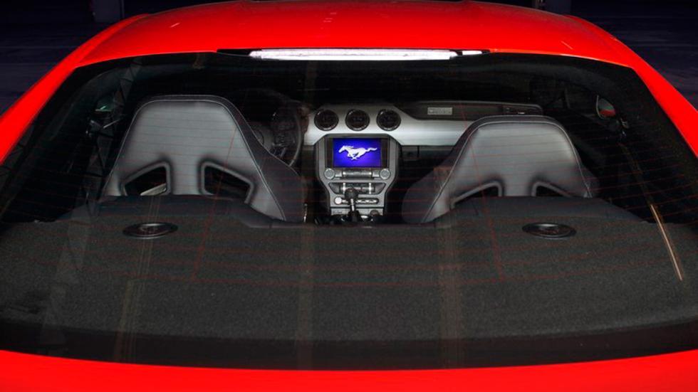 Ford Mustang 2015 Europa asientos