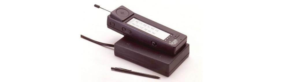 El IBM Simon, a la venta en 1994