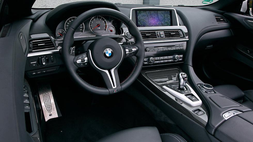 BMW M6 Cabrio interior