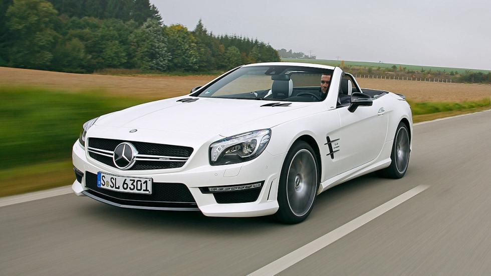 Mercedes SL 63 AMG dinámica