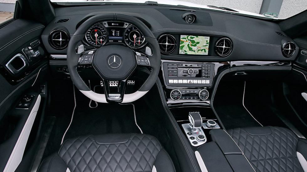 Mercedes SL 63 AMG interior