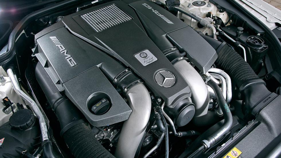 Mercedes SL 63 AMG interior motor