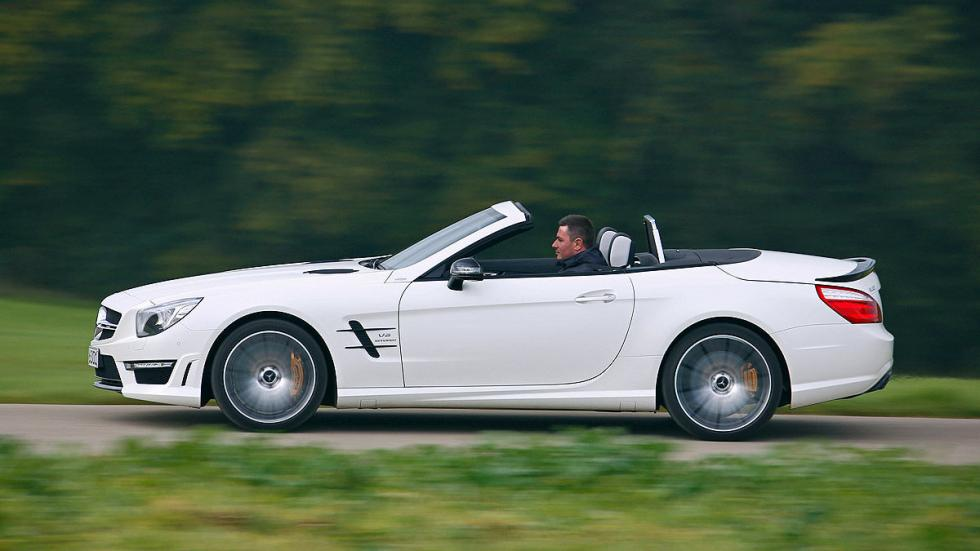 Mercedes SL 63 AMG lateral