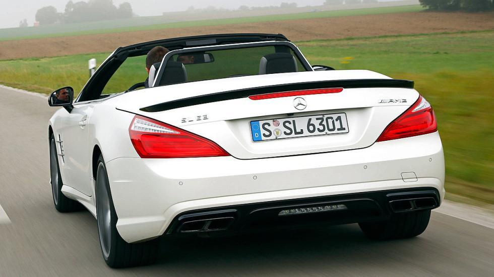 Mercedes SL 63 AMG lateral zaga