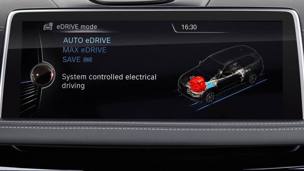 BMW X5 xDrive40e pantalla