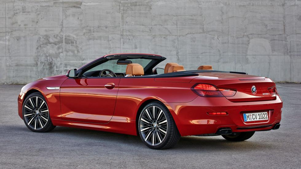 BMW Serie 6 Cabrio sin techo