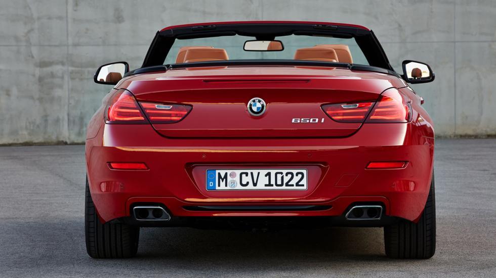 BMW Serie 6 Cabrio trasera
