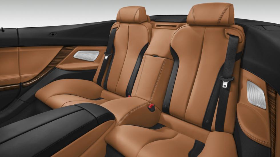 BMW Serie 6 Cabrio segunda fila