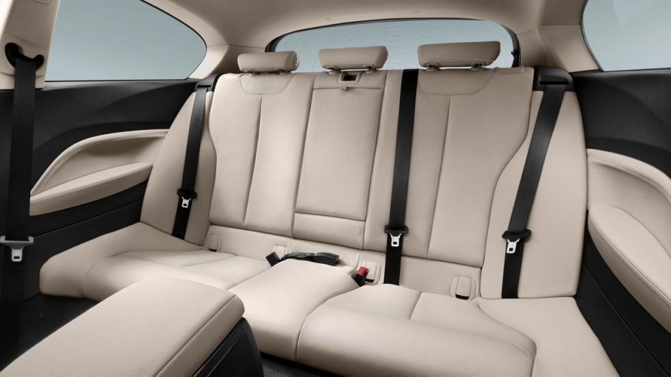 segunda fila del BMW Serie 1