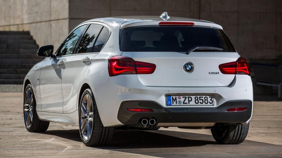 BMW Serie 1 2015 luces de posición traseras